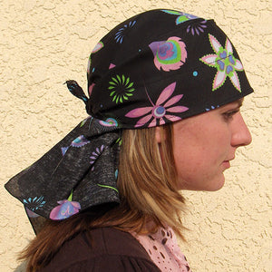 Retro Floral Skulldana® on SALE