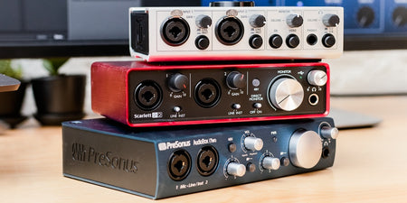 Audio Interface / Studio Monitors / Studio Microphones