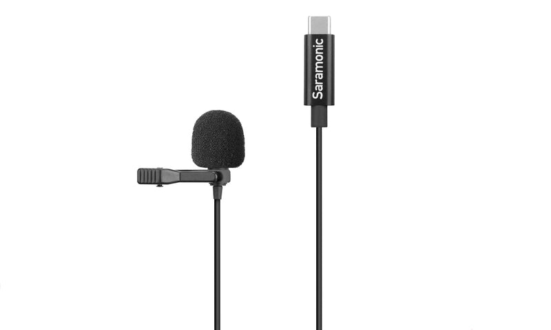 Saramonic LavMicro U3A Lavalier mic with USB-C connector