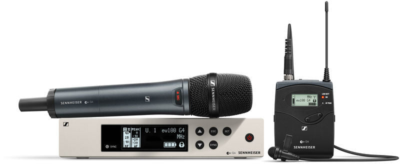 Sennheiser EW100G4 Combo Set Wireless System