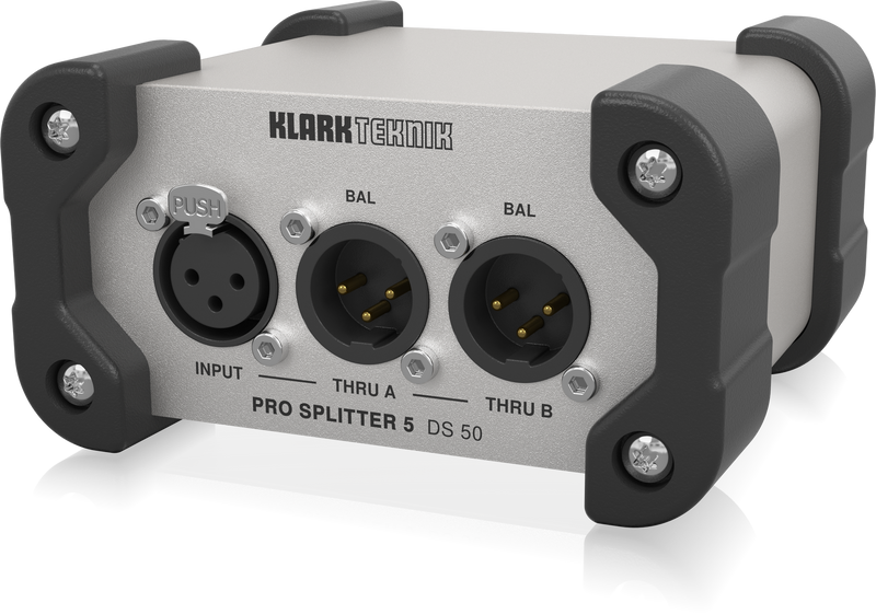 Klark Teknik DS 50, 5 Passive 1-In / 5-Out Signal Splitter