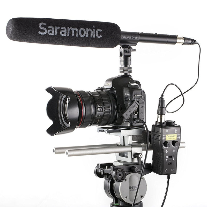 Saramonic Smartrig+ 2-Channel Audio Interface for Smartphone/DSLR