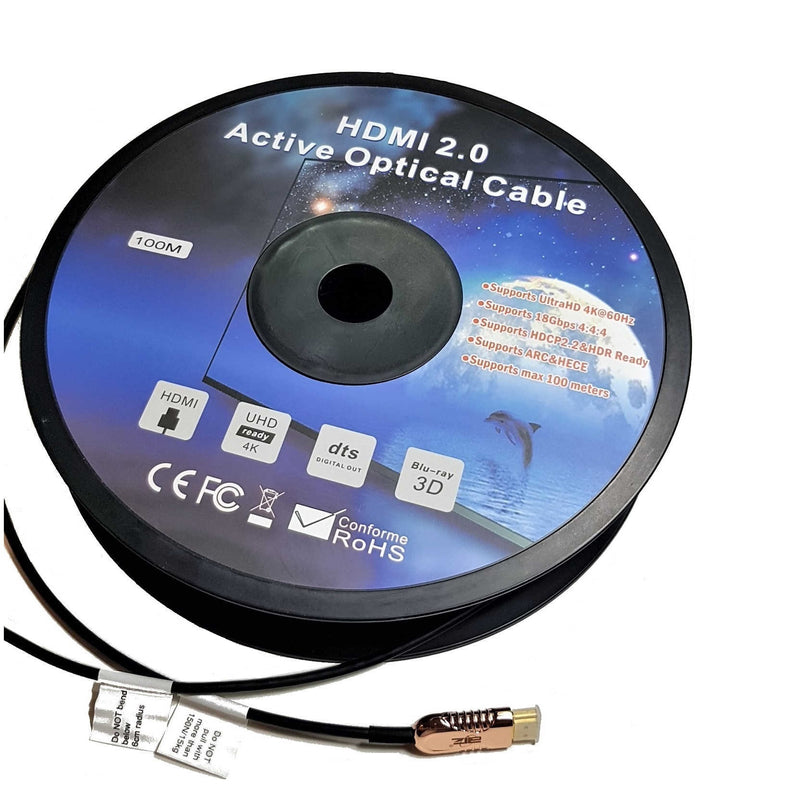 HDMI Active Optical Cable V2.0 – 4K@60hz (100m)
