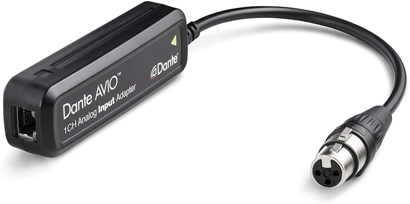 Audinate Dante AVIO 1-Channel Analog Input Adapter