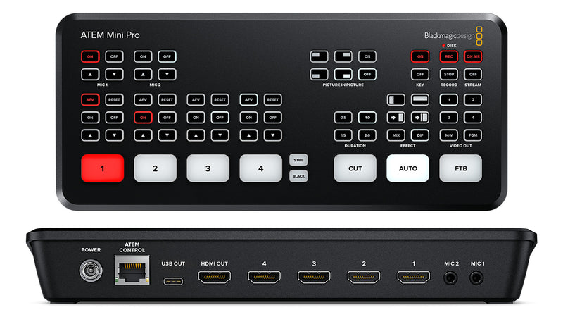 Blackmagic Atem Mini Pro Switcher