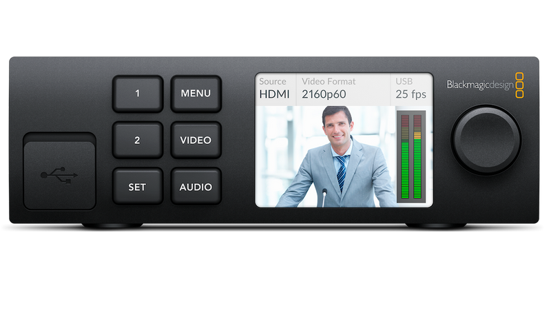Blackmagic Web Presenter w/Teranex Mini Smart Panel