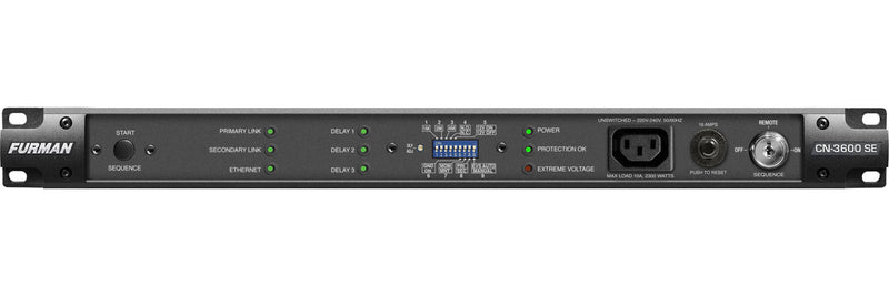 Furman CN3600 SE Contractor Series Smart Sequencer (230v)