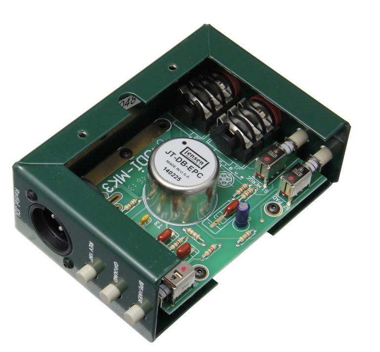 Radial Engineering JDI Mk3 - Passive DI Box with Jensen Transformer