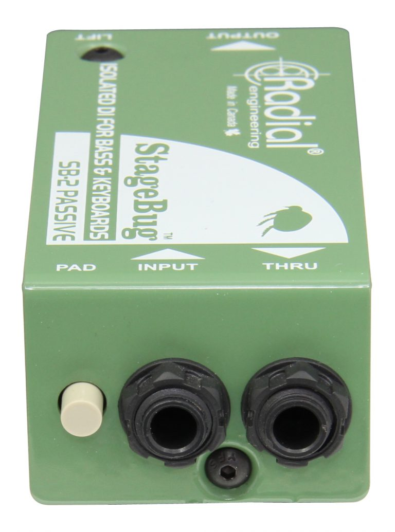 Radial Engineering StageBug SB-2 Passive DI Box