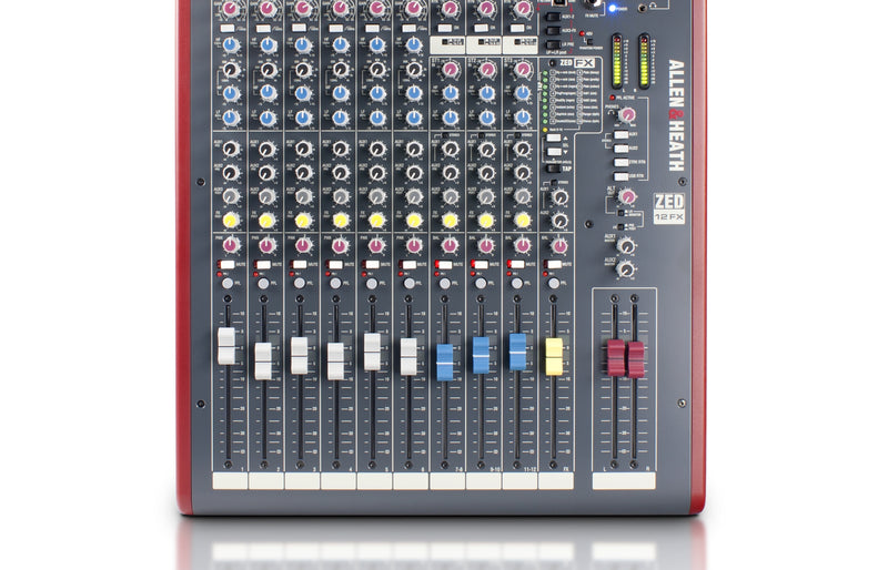 Allen & Heath ZED12FX Analog Mixer