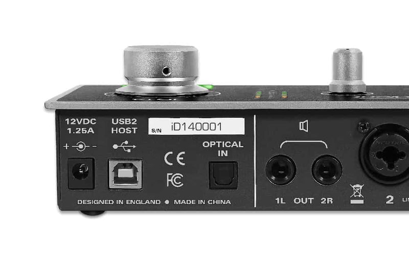 Audient ID14 10-in/4-out USB Desktop Audio Interface