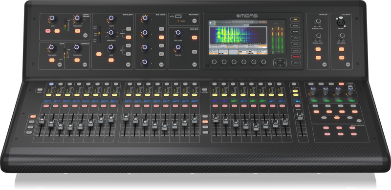Midas M32 LIVE Digital Console for Live and Studio with 40 Input Channels