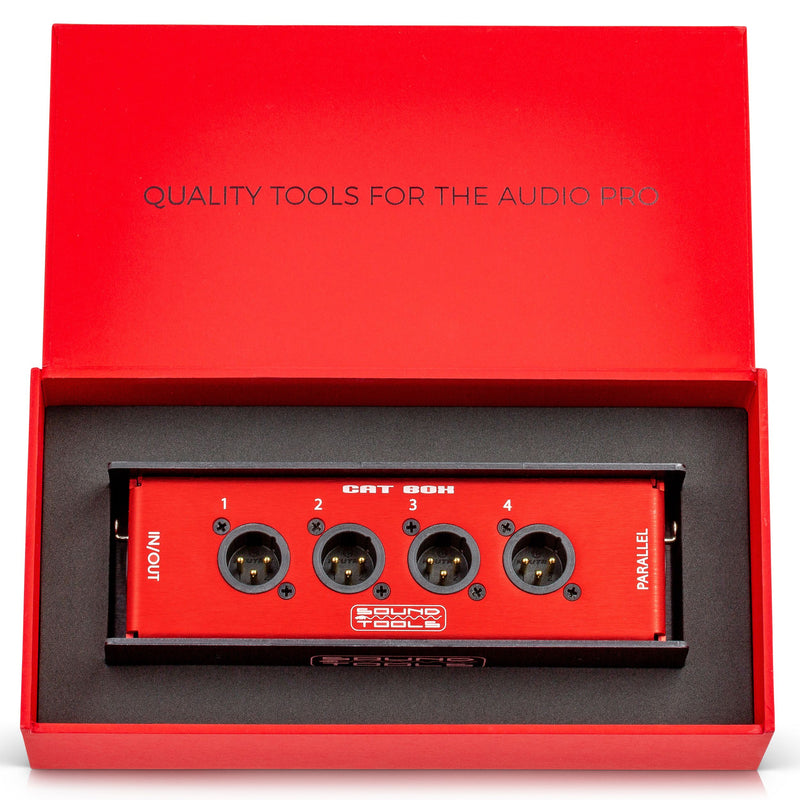 SoundTools CAT Box (Audio Over CAT5 Stage Box) MX&FX