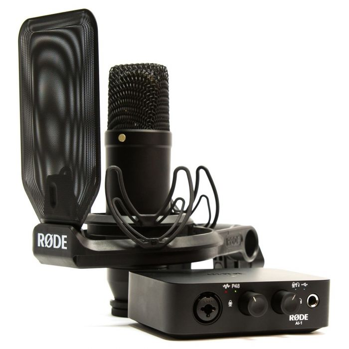 Rode NT1 Microphone with AI-1 Audio Interface Bundle