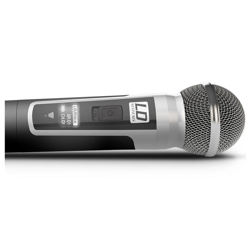 LD Systems U506 HHD2 Wireless Handheld Microphone