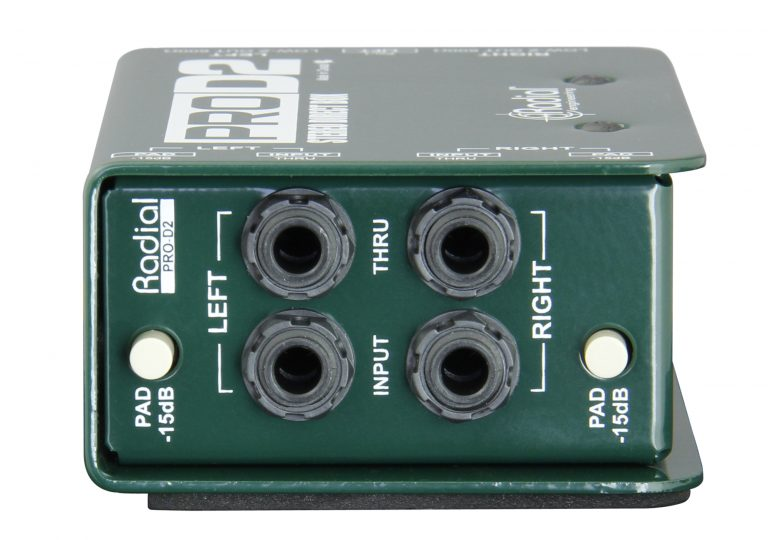 Radial Engineering ProD2 - Stereo Passive DI Box