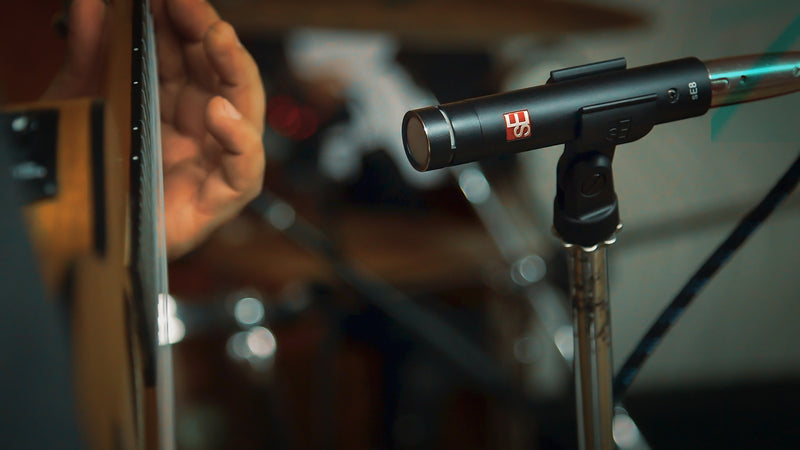 sE Electronics sE8 Small-Diaphragm Condenser Microphone (Single)
