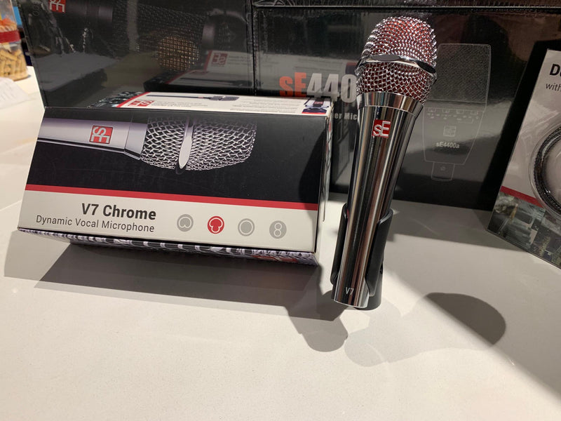 sE Electronics V7 Dynamic Microphone Chrome
