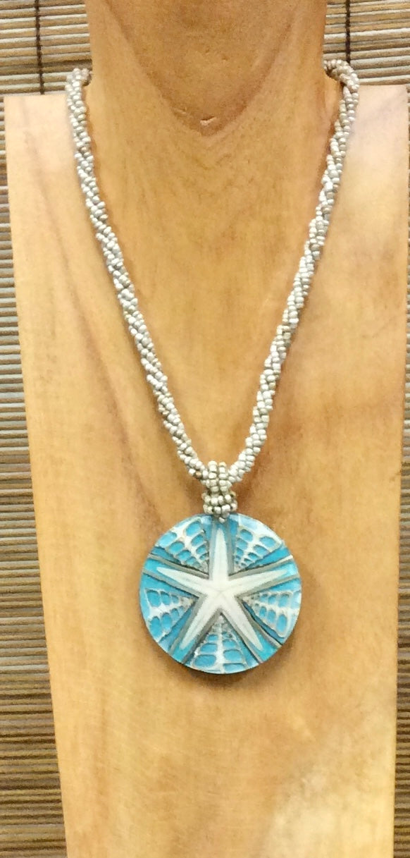 Natural Starfish Necklace - 3 Colors