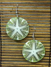 Load image into Gallery viewer, Natural Starfish Earrings - 3 Colors
