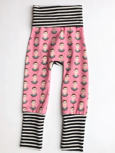 Grow with Me pants - RBG pink
