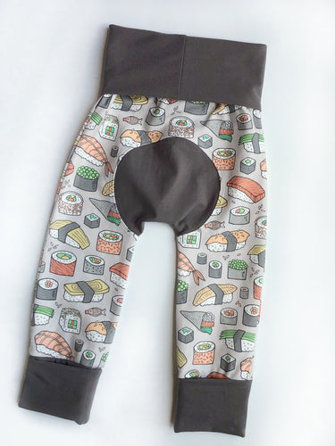 Grow with Me pants - sushi