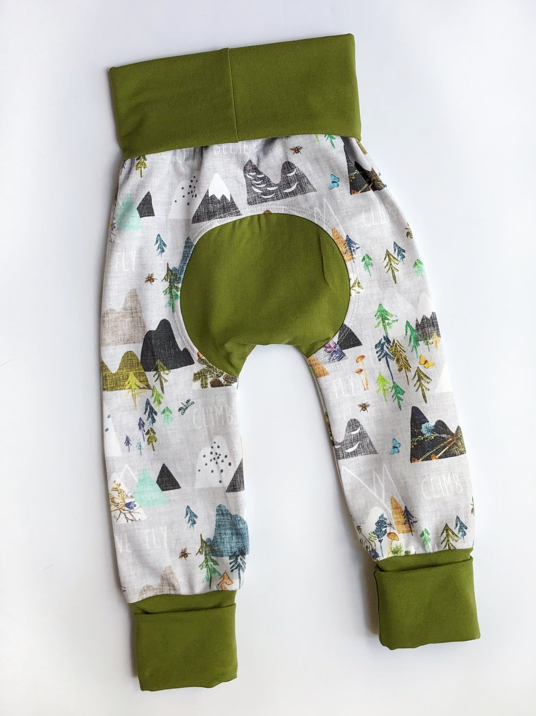 Grow with Me pants - climb fly dream