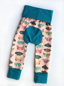 Grow with Me pants - butterflies