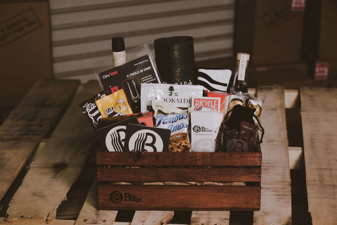 custom mens gift basket