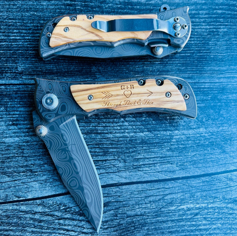 Personalize Knife