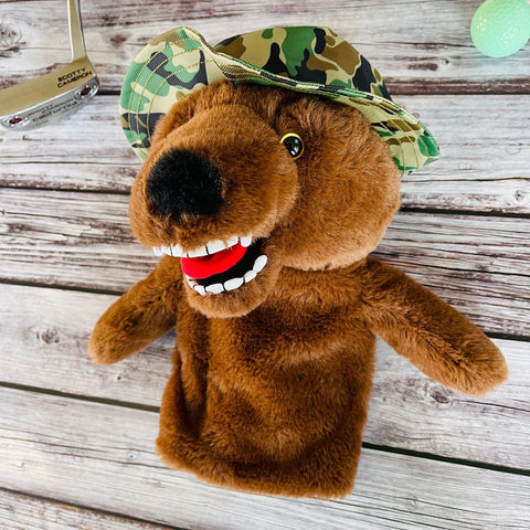 Grizzly Golf Head Cover