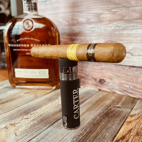 personalized torch cigar lighter