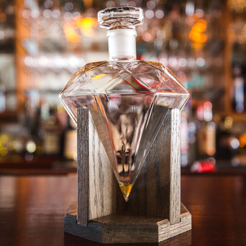 Diamond Decanter Whiskey Gift