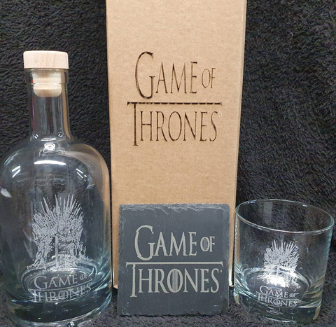 game of thrones decanter set