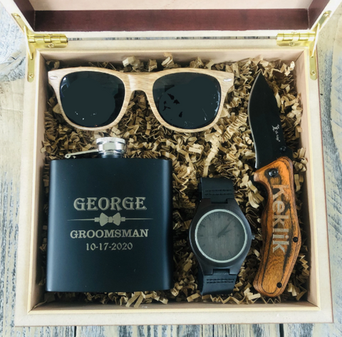Ghengis Khan Groomsmen Gift Box Set