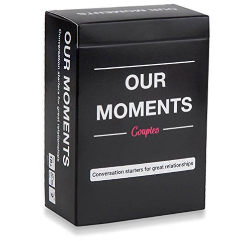 our moments conversation starting card game for couples