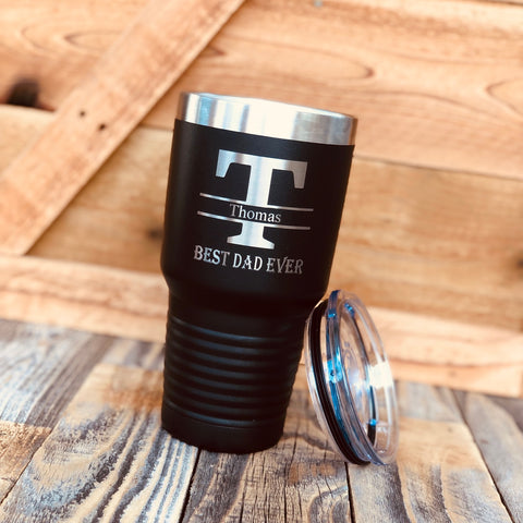 Personalized Tumbler Fathers Day Gift
