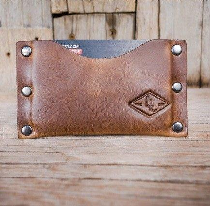Small Leather Minimalist Wallet