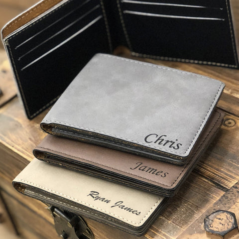 personalized wallet for him