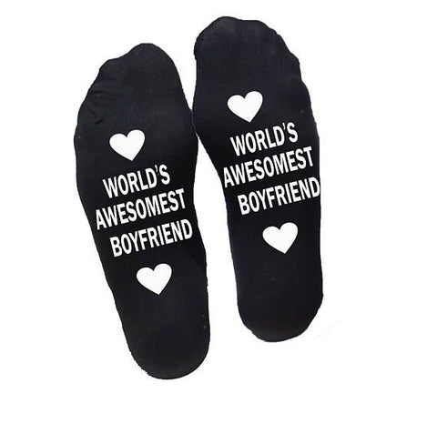best boyfriend valentines socks