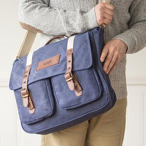 Men's Leather Satchel Bag