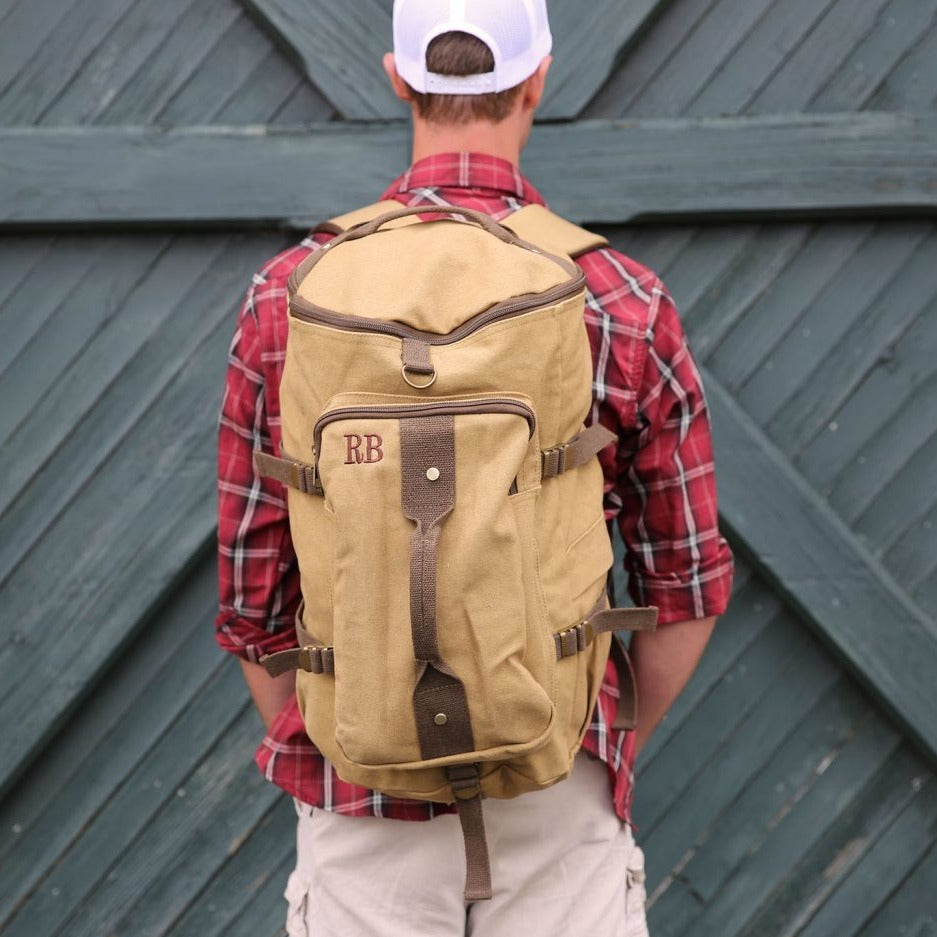 Personalized Backpack Groomsmen Gift