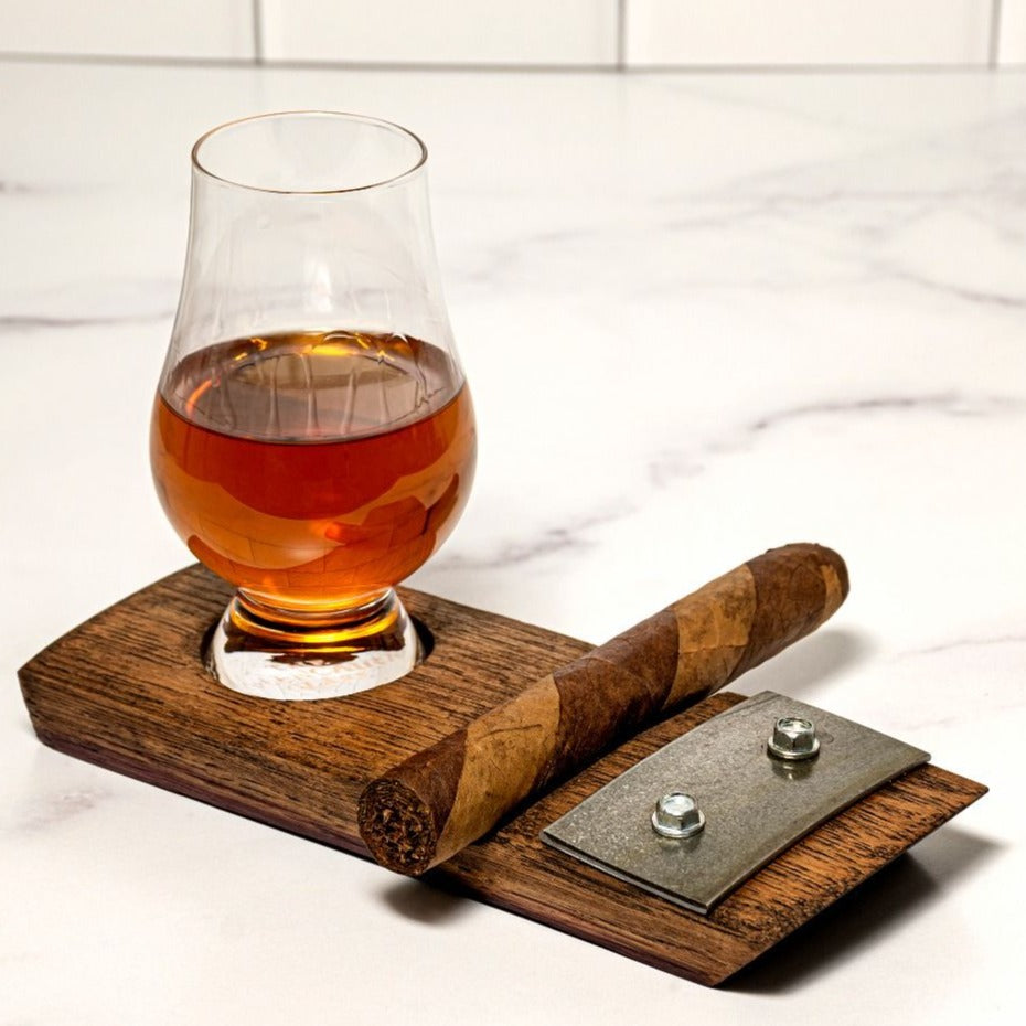 Barrel Stave Cigar Holder