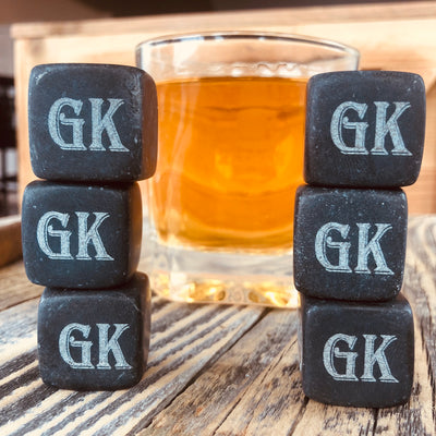 Personalized Whiskey Stones