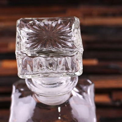 Engraved Crystal Decanter