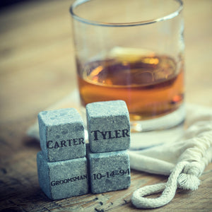 Whiskey Stones Set of 4