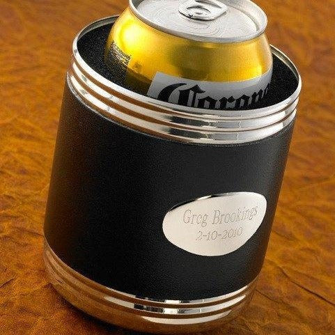 Bar - Like A Glove Leather Koozie