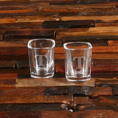 Two Personalized Shot Glasses