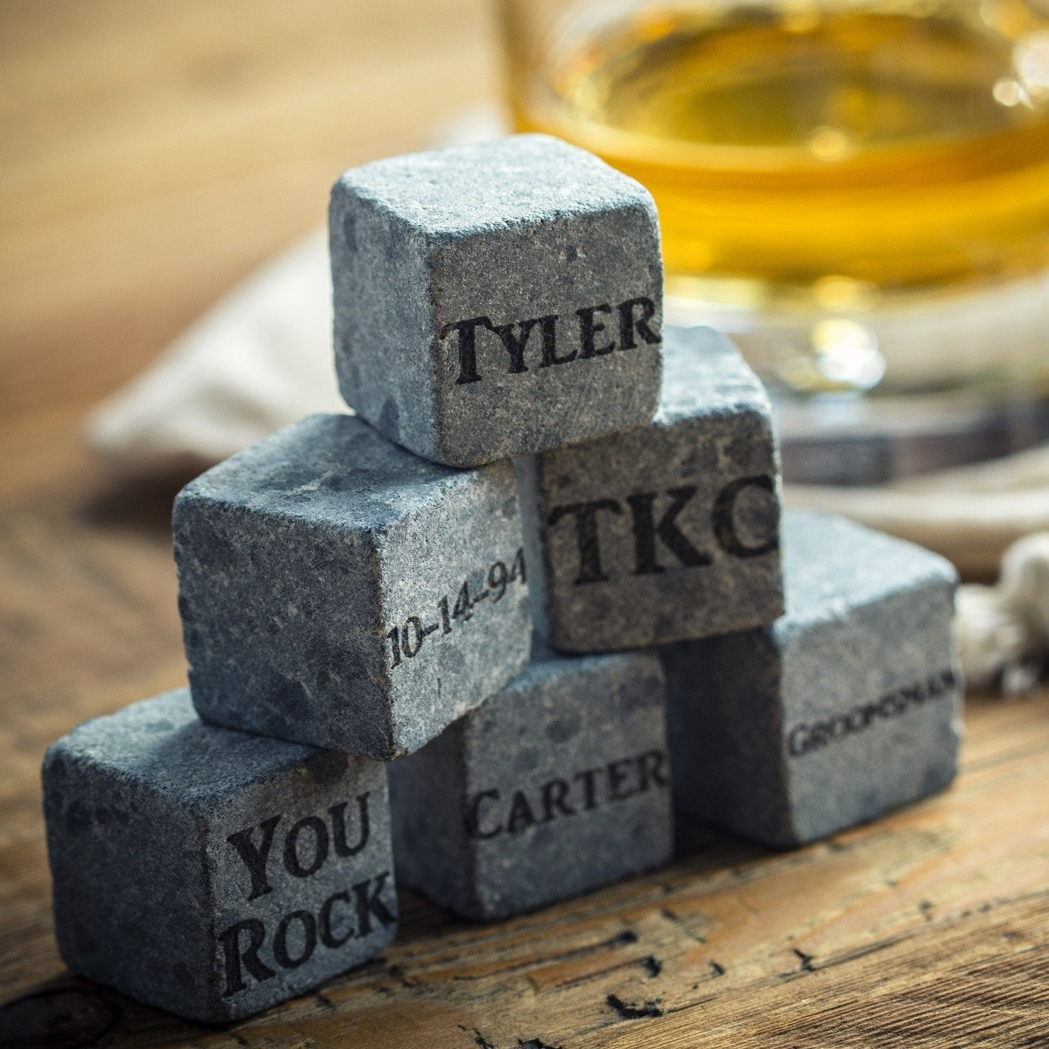 Custom Whiskey Stones