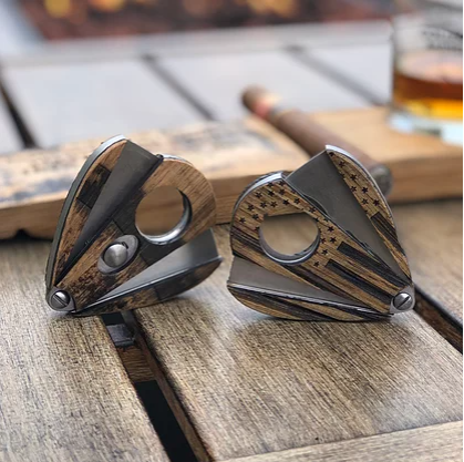 Whiskey Barrel Cigar Cutter